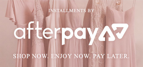 Installments by Afterpay. Shop now. Enjoy now. Pay later.