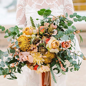 Mix and Match Bridal Bouquets