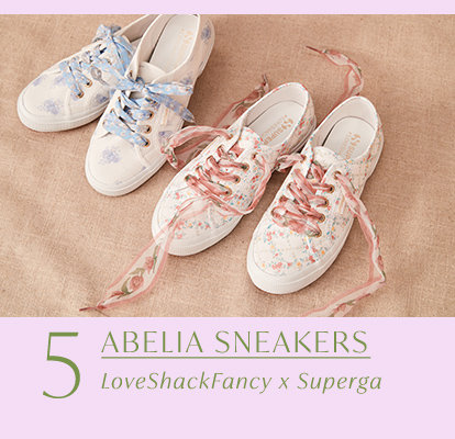 Product 5 of the drop: Abelia Sneakers by Superga.