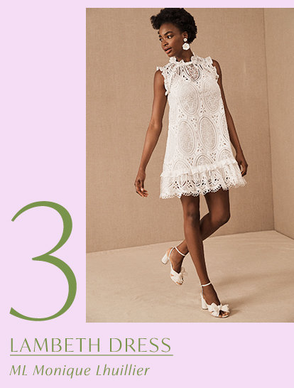 Product 3 of the drop: Lambeth Dress by ML Monique Lhuillier.