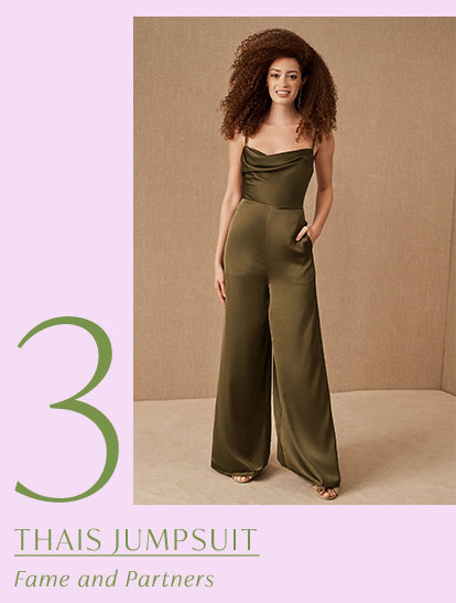 Product 3 of the drop: Thais Jumpsuit by Fame and Partners.