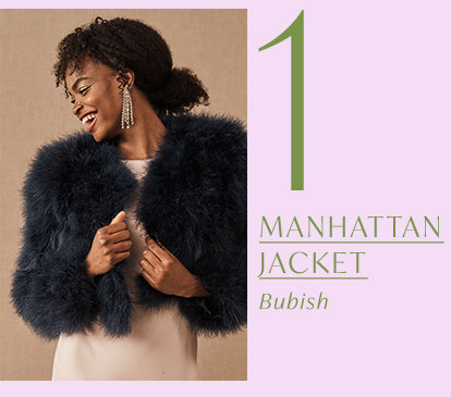 Product 1 of the drop: Manhattan Jacket by Bubish.